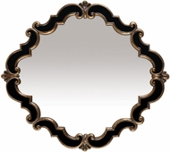 Sterling 40-2630M Frederick Distressed Black & Antique Gold Wall Mounted Mirror