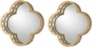 Sterling 51-012-S2 Gold Mirror - Set of 2