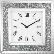 Sterling 5173-037 Kings Road Crushed Crystals / Clear Clock