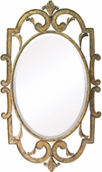 Sterling 55-214 Woodside Bright Antique Gold Mirror
