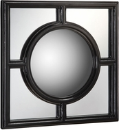 Sterling 6050514 Mirage Gloss Black Wall Mounted Mirror