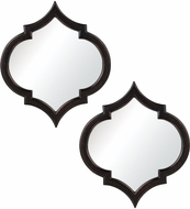 Sterling 6050679 Horizonte Modern Pessoa Bronze Mirror - Set of 2