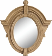 Sterling 6100-020 Parisian Dormer Russian Oak Wall Mounted Mirror