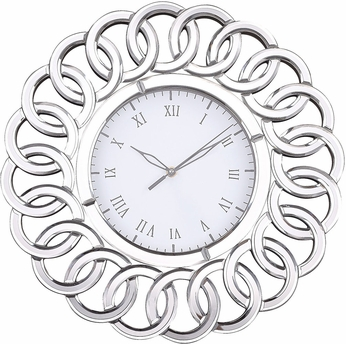 Sterling 6100-033 Châtelaine Clear Clock