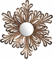 Sterling 7159-085 Olvera Modern Battery Bronze Wall Mounted Mirror