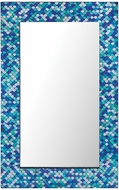 Sterling 8983-045 Aphrodisia Contemporary Turquoise Mirror