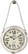 Sterling 8984-012 Nickel & White Rope Clock
