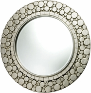 Sterling DM1964 Monterey Modern Silver Leaf & Light Antique Wash Wall Mirror
