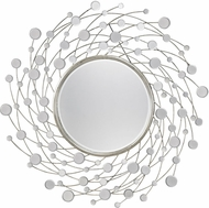 Sterling DM2026 Monte Vista Modern Antique Silver Mirror