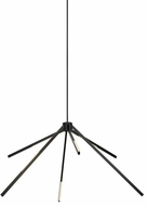 Tech 700AEONB-LED930 Aeon Modern Matte Black LED Chandelier Light