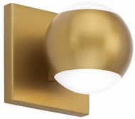 Tech 700BCOKO1R-LED930 Oko Contemporary Aged Brass LED Wall Sconce Light