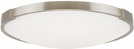 Tech 700FMLNC13S Lance Modern Satin Nickel LED 13  Overhead Lighting