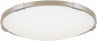 Tech 700FMLNC18S Lance Contemporary Satin Nickel LED 18  Flush Ceiling Light Fixture