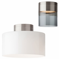 Tech 700FMMAN Manette Contemporary Satin Nickel LED Ceiling Light
