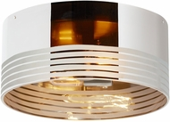 Tech 700FMMTNMCS Matan Modern Satin Nickel LED Ceiling Light Fixture