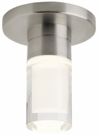 Tech 700FMSPRCCS-LED930 Sopra Contemporary Satin Nickel LED Flush Mount Light Fixture