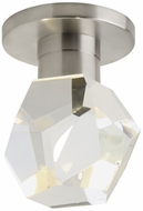 Tech 700FMSPRFCS-LED930 Sopra Contemporary Satin Nickel LED Flush Ceiling Light Fixture