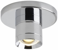 Tech 700FMSPRTRC-LED930 Sopra Modern Chrome LED Flush Mount Ceiling Light Fixture