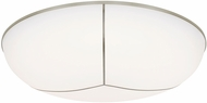 Tech 700FMTGN13S Tegan Contemporary Satin Nickel LED Ceiling Lighting Fixture