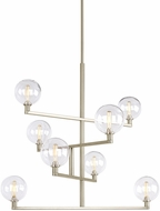 Tech 700GMBCS Gambit Contemporary Satin Nickel LED Chandelier Lighting