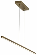 Tech 700LSESN1R-LED930 Essence Modern Aged Brass LED Island Light Fixture