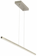 Tech 700LSESN1S-LED930 Essence Contemporary Satin Nickel LED Kitchen Island Light Fixture
