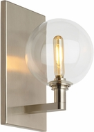 Tech 700WSGMBSCS Gambit Contemporary Satin Nickel LED Wall Light Sconce