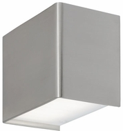 Tech 700WSKENS-LED830 Kenton Contemporary Satin Nickel LED Wall Light Fixture