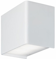 Tech 700WSKENW-LED830 Kenton Modern Rubberized White LED Wall Sconce Lighting