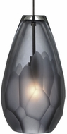 Tech BRIOLETTE-PENDANT-SMOKE Briolette Modern Low Voltage Mini Drop Lighting
