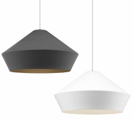 Tech Brummel Grande Contemporary LED Line Voltage Pendant Lamp