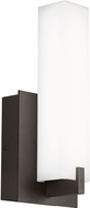 Tech Cosmo Contemporary Bronze LED Outdoor Wall Sconce