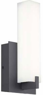 Tech Cosmo Modern Charcoal LED Exterior Wall Lamp