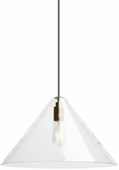 Tech CUNEO-PENDANT-CLEAR-STANDARD Cuneo Modern LED Line Voltage Pendant Lighting