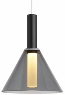 Tech MEZZ-PENDANT-TRANSPARENT-SMOKE Mezz Modern LED Low Voltage Mini Hanging Light