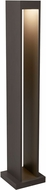 Tech Syntra Modern Bronze LED Exterior Bollard Pathway Lighting