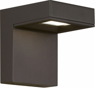 Tech Taag Modern Charcoal LED Exterior Sconce Lighting