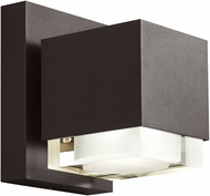 Tech Voto Contemporary Bronze LED Outdoor Large Wall Sconce