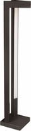 Tech Vox Modern Bronze LED Exterior Bollard Landscape Lighting