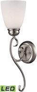 Thomas 1101WS-20-LED Chatham Brushed Nickel LED Wall Sconce