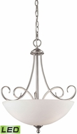 Thomas 1103PL-20-LED Chatham Brushed Nickel LED Pendant Light Fixture