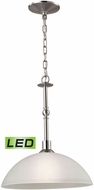 Thomas 1301PL-20-LED Jackson Brushed Nickel LED Pendant Lighting Fixture