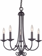 Thomas 1505CH-10 Williamsport Oil Rubbed Bronze Mini Hanging Chandelier