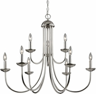 Thomas 1529CH-20 Williamsport Brushed Nickel Lighting Chandelier