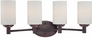 Thomas 190025719 Pittman Sienna Bronze 4-Light Bathroom Lighting