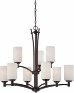 Thomas 190042719 Pittman Sienna Bronze Ceiling Chandelier