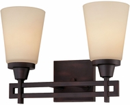 Thomas 190114704 Wright Espresso 2-Light Lighting For Bathroom