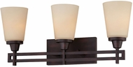 Thomas 190115704 Wright Espresso 3-Light Bath Lighting