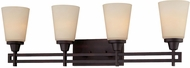 Thomas 190116704 Wright Espresso 4-Light Bathroom Light