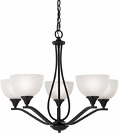 Thomas 2105CH-10 Bristol Lane Oil Rubbed Bronze Chandelier Light